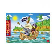 Купить <b>Пазлы</b> 26 эл. А4ф 200х300мм в <b>Рамке</b> -<b>Забавные</b> пираты ...