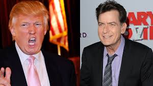 jon cryer compares donald trump to charlie sheen i don t want charlie sheen wants to be donald trump s running mate winning