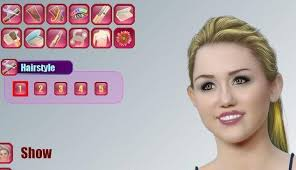 the game miley cyrus makeover