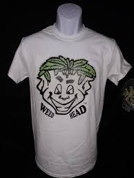 T-Shirt/<b>Big Face Glow</b> Only – Weed Head Apparel