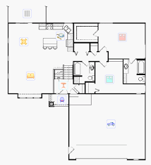 Lovely Arts and Crafts Style Bi Level House Plan   FieldcrestFieldcrest floor plans