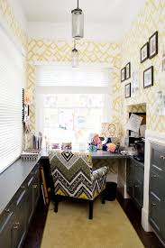 small office spaces home office contemporary with black picture frames built in blue home office dark wood