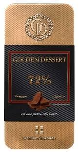<b>Шоколад Golden Dessert горький</b> с какао-порошком Десерт ...