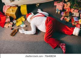 <b>Drunk Santa</b> Images, Stock Photos & Vectors | Shutterstock