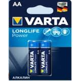<b>Батарейка Varta HIGH</b> ENERGY AA цвет синий - купить в ...