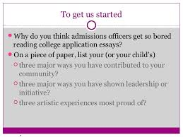 One way to write a great college admissions essay  Tell your story     ASB Th  ringen
