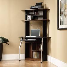 Full Size Desk Alluring Small Corner With Hutch Engineered Wood Construction Chrome Metal  Gruposaberco