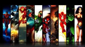 marvel dc comics superman batman iron man spider man green lantern captain america wolverine the flash hulk wonder woman batman superman iron man