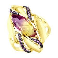 Купить <b>кольцо SOKOLOV из желтого</b> золота в Москве в интернет ...