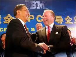 Câu chuyện máy tính Lenovo mua máy tính cá nhân IBM
