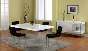Modern White Dining Room Set Modern Dining Room Black And White Info Home And Furniture