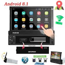 <b>7 inch</b> Android 8.1 Car Radio <b>1 Din</b> MP5 Player + Wifi + GPS + ...