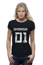 """Женская одежда c авторскими принтами """"именные футболки ..."""