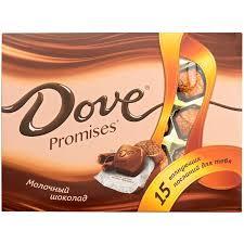 Купить <b>конфеты DOVE</b> PROMISES Молочные, 120г в торговых ...