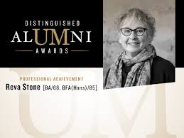um today the distinguished alumni award recipient for the 2017 distinguished alumni award recipient for professional achievement is reva stone