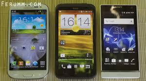 Сравнение Samsung Galaxy S3 vs HTC One X vs Sony Xperia S от ...