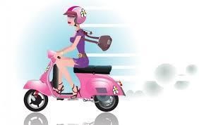 """Résultat de recherche d'images pour """"scooter dessin image fille"""""""