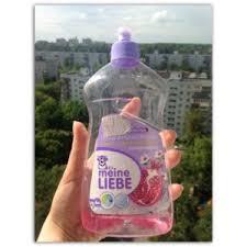 Гель для мытья <b>посуды Meine LIEBE</b> Гранат и цветы шиповника ...