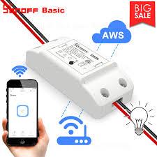 <b>ITEAD Sonoff Basic R2</b> Wifi DIY Smart Wireless Remote Control ...