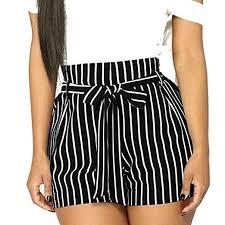 Leisure Pants,<b>2019 Fashion</b> Womens <b>Summer</b> Stripe <b>Printed</b> Shorts ...