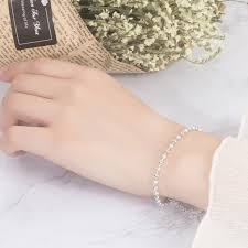 2019 <b>Summer Fashion 925 Sterling</b> Silver Chain Anklets For ...