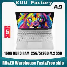 Promo <b>KUU A9 14.1 inch Laptop</b> intel 3867U 16GB DDR3 RAM ...