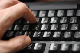 Image result for Hands clicking keyboard