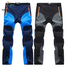 <b>NUONEKO</b> New Mens Summer Quick Dry <b>Hiking</b> Pants Men ...