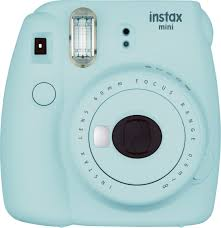 Fujifilm instax mini 9 Instant Film Camera Ice Blue 16550643 - Best Buy