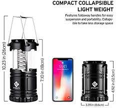 Etekcity Lantern Camping Lantern Battery Powered ... - Amazon.com