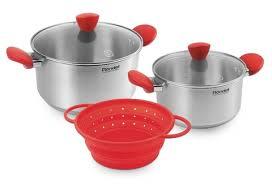 <b>RDS</b>-<b>1003 Набор</b> посуды <b>Rondell</b> Breit с дуршлагом (5пр) купить в ...