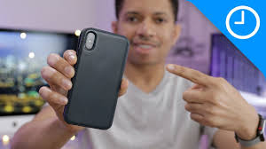 iPhone X <b>Leather Folio</b> extended impressions [9to5Mac] - YouTube