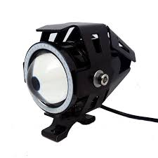 lamp <b>1 pair 125W Motorcycle</b> Headlight Motorbike spotlight 3000LM ...
