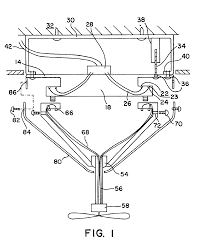 patent us6634901 quick connect device for electrical fixture on ceiling fan wiring schematic diagram