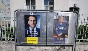 Présidentielle: deux départements ont élu Le Pen, le reste de la France Macron