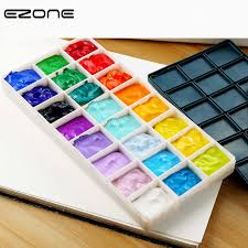 <b>EZONE</b> 10/24/36/48 <b>Grids Palette</b> Plastic Cases With Soft Rubber ...