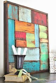 11 <b>Creative Wood Wall Art</b> Ideas | Weekend DIY Projects | Scrap ...