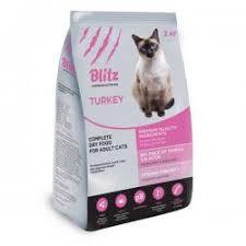 «Блиц» — обзор марки и рейтинг кормов для кошек, <b>сухой корм</b> ...
