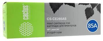Купить <b>Картридж cactus CS</b>-CE285AS, совместимый по низкой ...