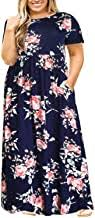 Plus Size Floral Maxi Dresses - Amazon.com