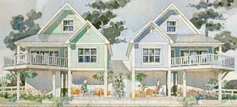 Beach Coastal House Plans   Southern Living House PlansSl