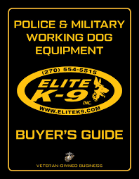 Elite K-9 Product Catalog