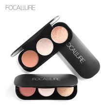 <b>FOCALLURE</b> Double Head 3D <b>Bronzer</b> Highlighter For Face ...
