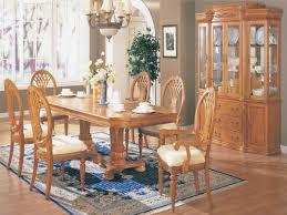 Light Oak Dining Room Furniture Dining Table Hutch Solid Oak Dining Room Set Light Oak Dining