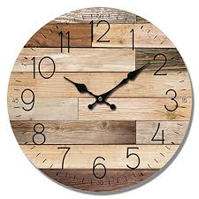 HDC International <b>Wall Clock</b> Natural Col- Buy Online in Jamaica at ...