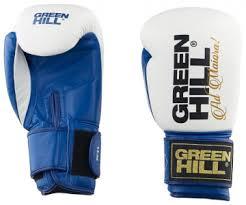 <b>Перчатки боксерские Green</b> Hill LEGEND BGL-2246-10-BL 10 унций
