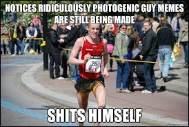 Ridiculously Unlucky Marathoner memes | quickmeme via Relatably.com