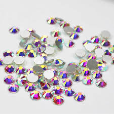 Sew On Clear Crystal Rhinestones <b>Shiny</b> Strass <b>100pcs</b>/lot Mix Size ...
