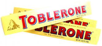 Resultado de imagem para chocolate toblerone