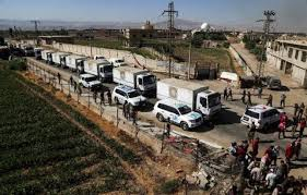 <b>First Aid</b> of 2018 Reaches Ghouta as US Urges Russia to <b>Push</b> ...